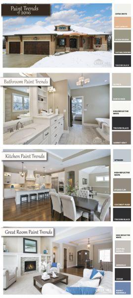 2016 Home Paint Color Trends Creek