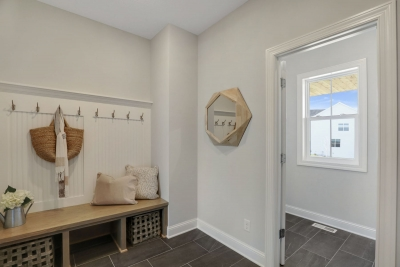 Mudroom and Powder Room